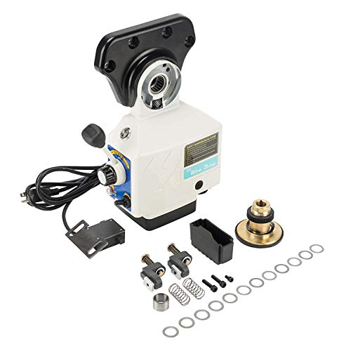 X-Axis 150 LBS Torques X Traverse Feeder 4-180 RPM Power Table Feed for Bridgeport Type Milling Machines (Torque150LBS X-Axis) ()