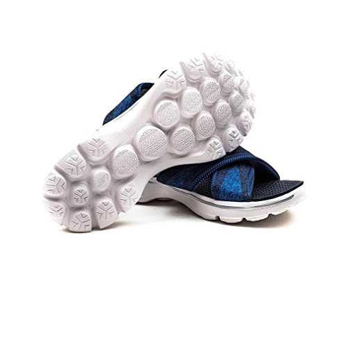 Sandalias y chanclas para mujer, color Azul , marca SKECHERS, modelo Sandalias Y Chanclas Para Mujer SKECHERS GO WALK - MELLOW Azul