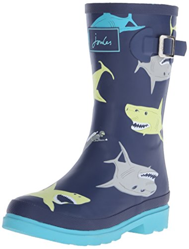 Boys Welly Rain Boot Multi Shark