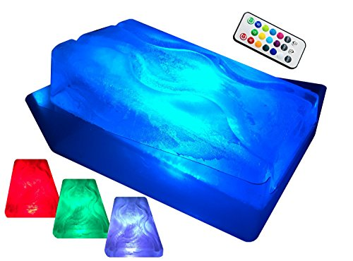 King Luge -- The HUGE No Mess Dual-Track Ice Luge Mold (w/ LED Tech Package)