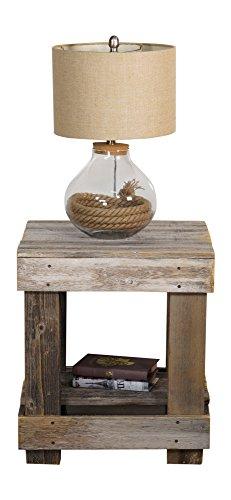 DAKODA-LOVE-Rustic-Barnwood-End-Table-USA-Handmade-Reclaimed-Wood
