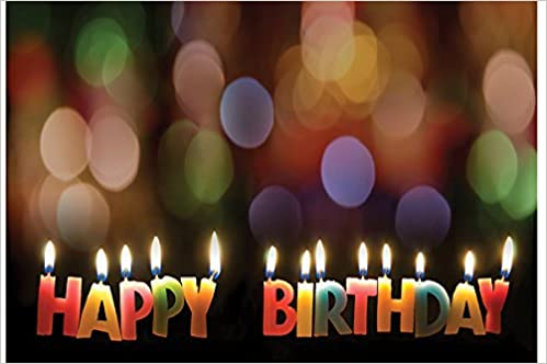 Happy Birthday Candles Postcard Pkg Of 25 Abingdon Press 9781426711145 Amazon Books