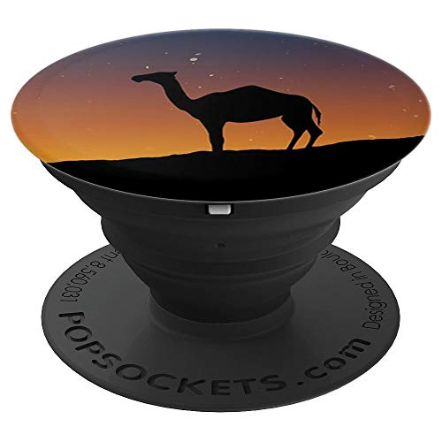 - Camel Sunset Desert Galaxy - PopSockets Grip and Stand for Phones and Tablets