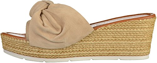 Marco Tozzi - Mules Mujer Beige
