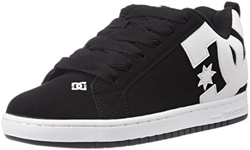 DC Universe Herren Court Graffik Sneaker Schwarz (Black - 001)