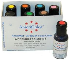 Set de 8 colores Airbrush AmeriColor AmeriMist Colores (8x19ml)