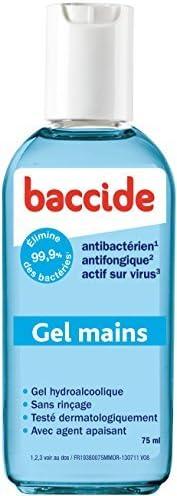 Baccide Gel Hydroalcoolique Mains Sans Rincage 75 Ml By Cooper