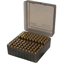 MTM 100 Round Flip-Top Rifle Ammo Box 22-250, 308 Win, 243