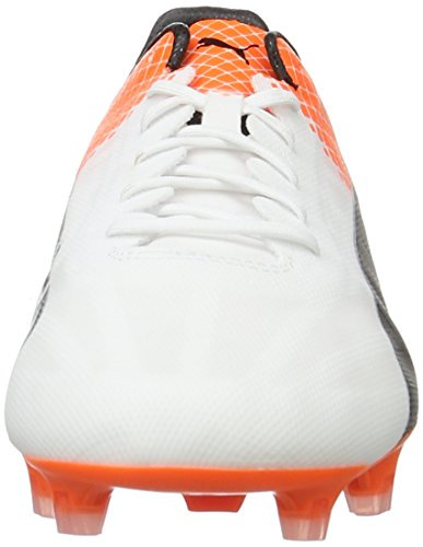 Puma Weiß Puma Calcio Black da shocking puma FG Evospeed Scarpe White Orange SL Bianco 06 II Uomo Tricks vRPqrvw0