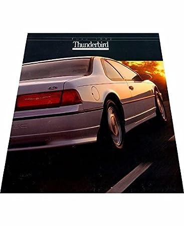 Amazon Com 1992 Ford Thunderbird 18 Page Car Sales Brochure