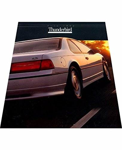 Sc Coupe - 1992 Ford Thunderbird 18-page Car Sales Brochure Catalog - LX Super Coupe SC