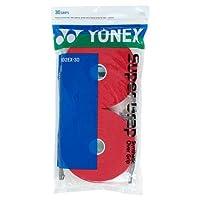 Color del sobregrip para tenis Yonex Super Grap: paquete de 3 en rojo