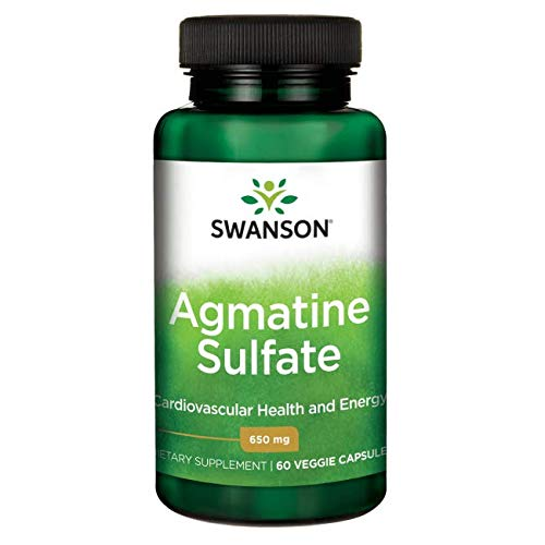 Swanson Agmatine Sulfate 650 Milligrams 60 Veg Capsules Review