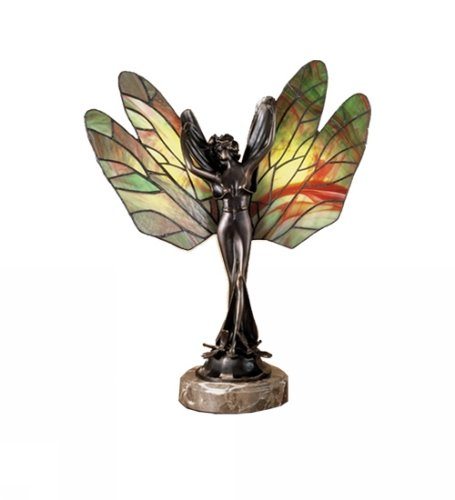 Dragonfly Lady Accent Lamp ()