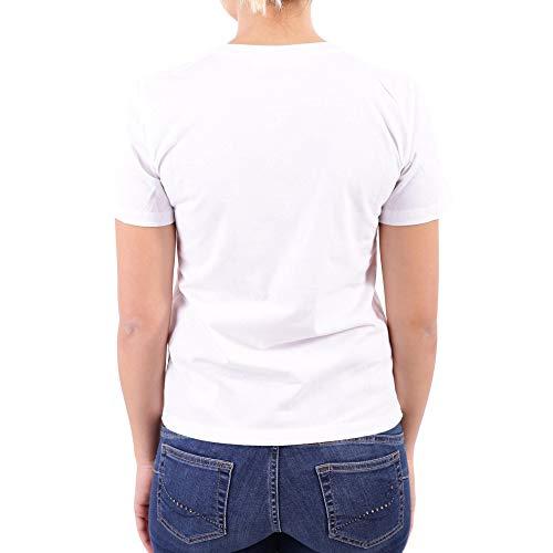 Mujer Barrett Pnjt19sf559s526 T Neil Blanco shirt Algodon U8qxH1