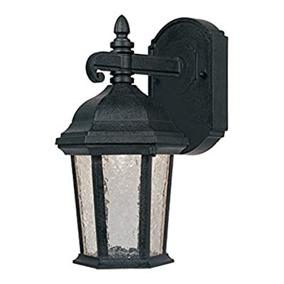 Designers Fountain Outdoor Abbington LED2771 Wall Lantern - Driftwood