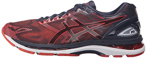 ASICS Men's Gel-Nimbus 19 Running Shoe, Peacoat/Red Clay/Peacoat, 8 Medium US by ASICS (Image #5)