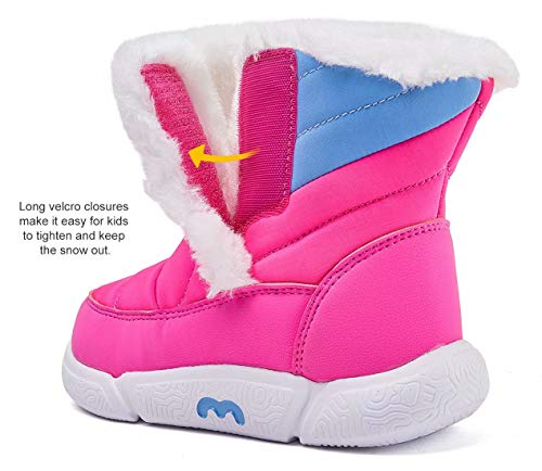 1afd3ddb6c BMCiTYBM Toddler Snow Boots Girls Boys Little Kid Winter Outdoor ...