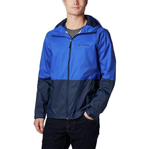 Columbia Men's Roan Mountain Jacket, Azul, Collegiate Navy, L