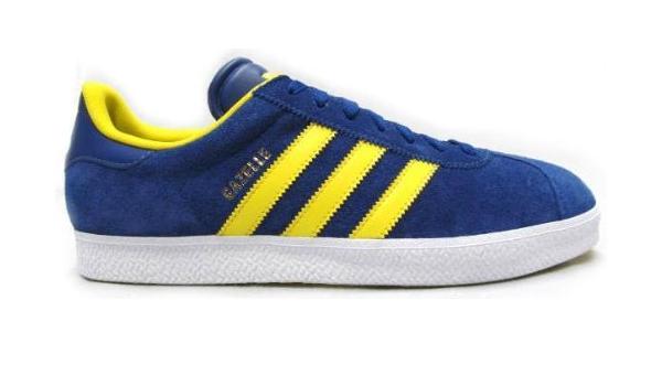 Adidas Gazelle II -Royal Blue \u0026 Yellow