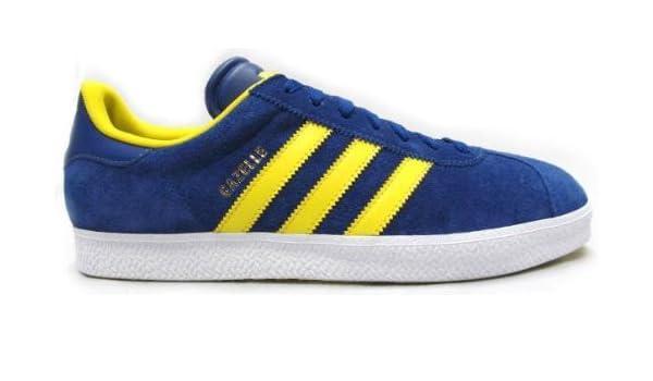 adidas gazelle blu e gialle