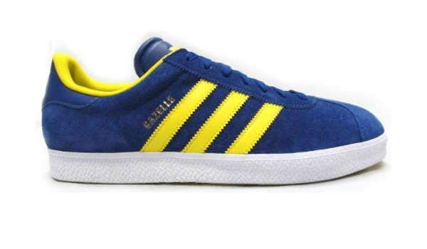 Adidas Gazelle II -Royal Blue & Yellow : Amazon.ca: Clothing ...