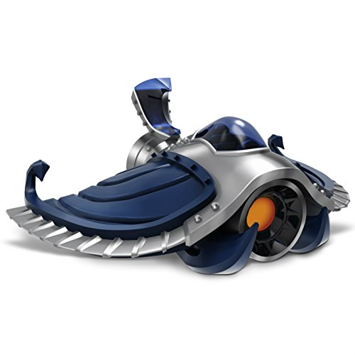 Skylanders SuperChargers: Dark Sea Shadow Individual Vehicle - New In Bulk Packaging