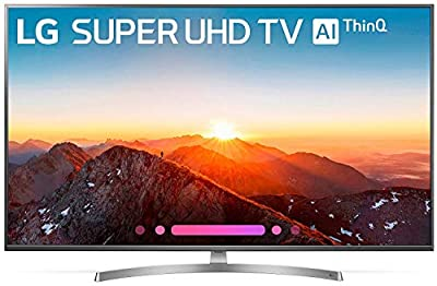 LG Electronics 65SK8000AUB 65-Inch 4K Ultra HD Smart LED TV (2018 Model) (Certified Refurbished)