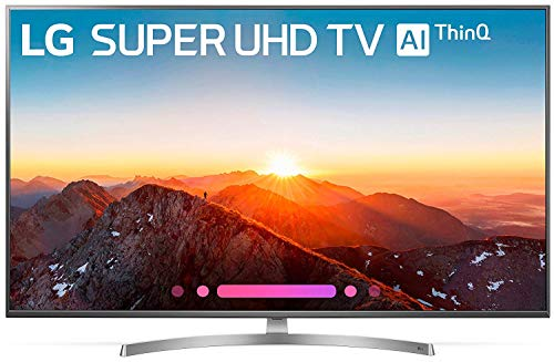 LG Electronics 65SK8000AUB 65-Inch 4K Ultra HD Smart LED TV (2018 Model) (Renewed)