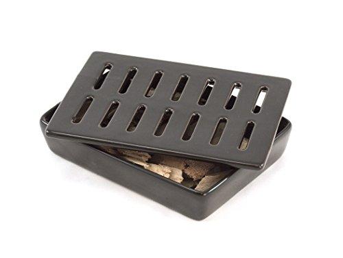 Best Buy! Charcoal Companion CC3806 Flame Friendly Ceramic Smoker Box
