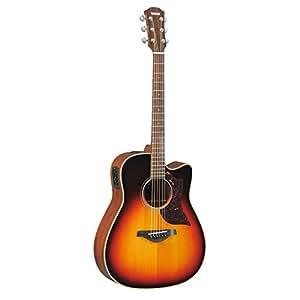 yamaha a series a1m cutaway acoustic electric guitar mahogany vintage sunburst. Black Bedroom Furniture Sets. Home Design Ideas