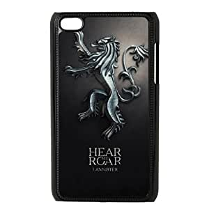 iPod Touch 4 Case Black Game of Thrones Lalq