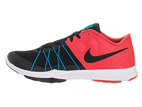 Nike Mens Zoom Treno Scarpe Da Allenamento Cross Incredibilmente Veloci Action Red / Black / Blue Glow / White