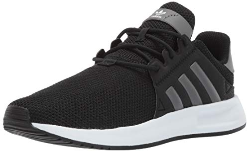 adidas Originals Unisex X_PLR Running Shoe, Black/Grey/White, 7 M US Big Kid (Boys Sneakers Size 7)