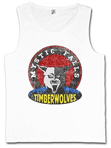 MYSTIC FALLS TIMBERWOLVES HERREN TANK TOP – Vampire Football Team Diaries Sign Zeichen Logo Vampir Vampire Werewolf Werewolver Werwolf Horror Creature Größen S – 5XL