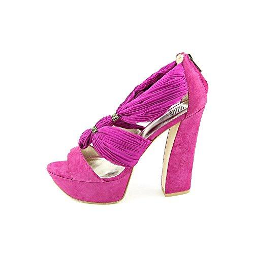 Pelle Size US Moda Benita Kid Suede Women 9 Sandals Purple Oq17Ow