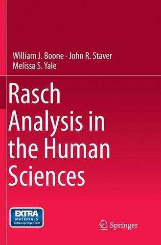 Rasch Analysis in the Human Sciences (Item Response Theory R)
