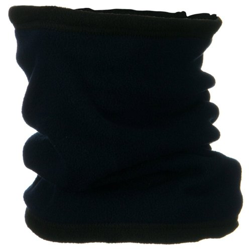 Micro Fleece Turtleneck (Army Universe Black Military Cold Weather Polar Fleece Neck Gaiter Neck Warmer)