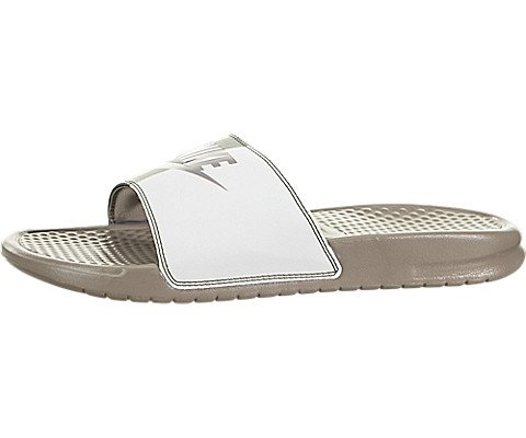 buy popular a2832 cafd3 Galleon - Nike Men s Benassi Just Do It Athletic Sandal, Sepia Stone Summit  White, 8 D US