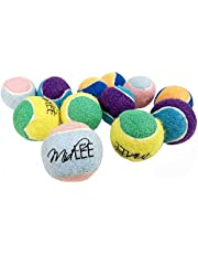 """Midlee X-Small Dog Tennis Balls 1.5"""" Pack of 12 (Assorted, 1.5 inch)"""