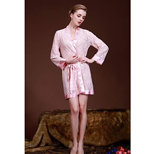 donna da sexy chiffon prospettiva donna in in Pink Pigiama YHJM da XqIxwaEYw