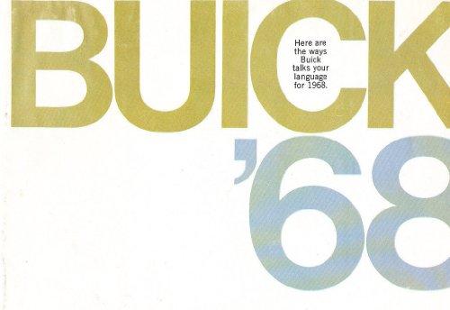 1968 Buick Original Car Sales Brochure Catalog - Riviera Electra Wildcat GS400
