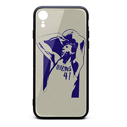 3D Phone Cases for iPhone Xr Non-Slip Shockproof Ultra Slim Fashionable Perfectly Fit Tempered Glass Back Covers Durable PC TPU Hybrid Protective Shockproof Glossy