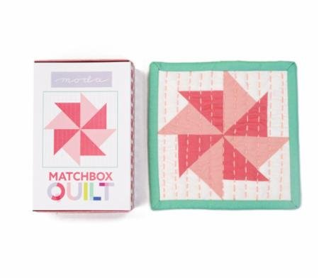 No 4~ Coral Matchbox Quilt Kit by Moda Fabrics (Quilt First Kit)