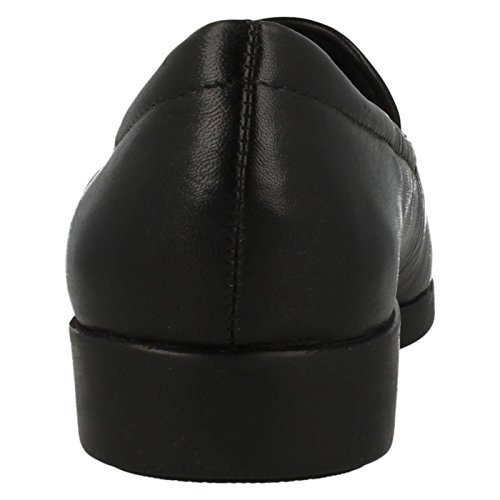 Clarks Géorgie Womens Extra Large Casual Chaussures 6.5 EE (XW) UK/ 40 EU Noir dOTWGhd7