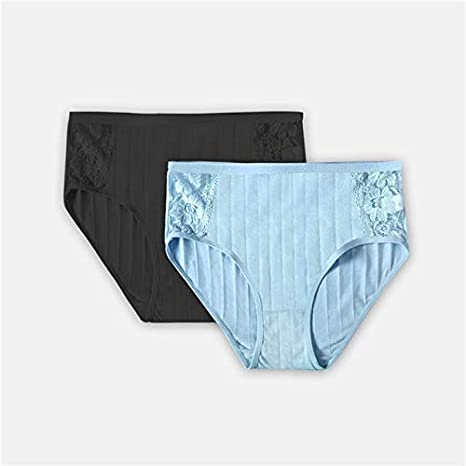 YPDDNK Marca 2PCS / Set 2XL-4XL Bragas de algodón para Mujeres ...