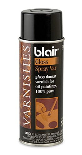 Blair Damar Spray Varnish 11 Oz Can (30016)