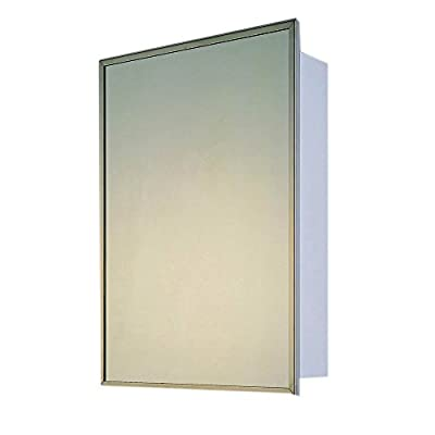 """Ketcham Cabinets Deluxe Series Recessed Medicine Cabinet Stainless Steel Framed 24""""X36"""""""