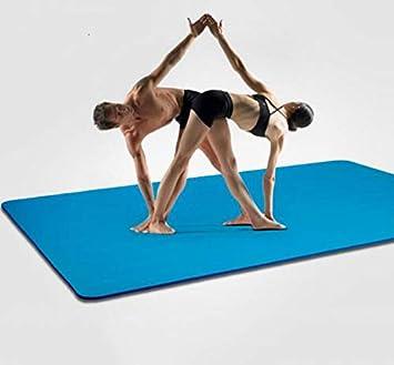 WLWLEO Estera Grande Doble Yoga de 20 mm Extra Grueso ...