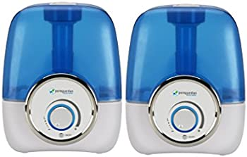 2 Pack PureGuardian 1.5-Gallon Ultrasonic Cool Mist Humidifier